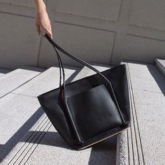 Introducing the Pocket Tote 2! A larger more spacious version of our soft Pocket Tote carryall.