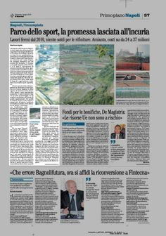 Diciassette ettari di sport a Bagnoli