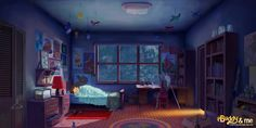 concept bedroom boys google animation reference concepts kid chambre characters into depuis enregistree cool