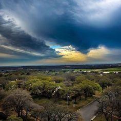 My corner of the world. #denton #djiphantom3standard #dji_world . . . . #dentoning #djiglobal #dronestagram #dronepics #drones #dronephotography #dronesetc #dronepics #texasskies #skies #droneoftheday #droneshot #dronekoning #clouds #dentontx #viewfromabove #cloudscape #lovenature #artofvisuals #splendid_shotz #storm #springstorm #dronegear #droneworld