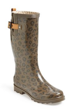 Chooka 'Top Solid' Rain Boot (Women) available at #Nordstrom $65