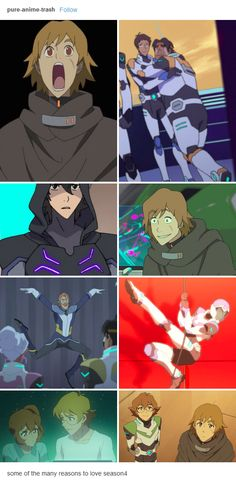 Voltron S4 Season 4 Lance Matt Pidge backstory rope dance Keith galra