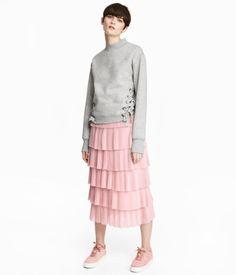 Tiered Skirt | Light pink | Women | H&M US
