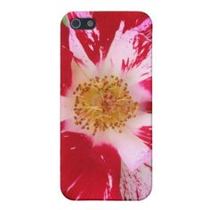 Red and Pink Dog Rose Case For iPhone 5