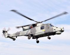 Royal Navy Wildcat Helicopter