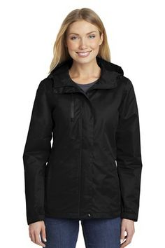 PORT AUTHORITY LADIES ALL CONDITION JACKETS #apparel #employee #onetouchpoint