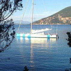 start of season 2016 #barcaavela #vela #sailingboat #sailing #moana60 #imoca #cruise #crociere #baie #sup #greece #Zakynthos #kefallina #Ithaki #travel #vacanze #viaggi #estate #spiagge