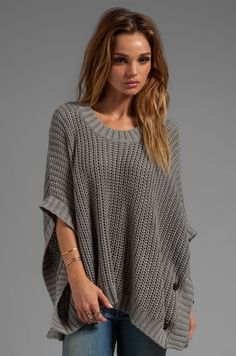Poncho Sweater                                                                                                                                                                                 More