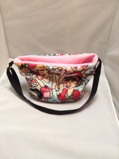Uptown Girls Pink Bonding Bag / Carrying Pouch with Adjustable Strap for Hedgehog, Guinea Pig, Rat, Ferret, Rabbit, Other Small Pet