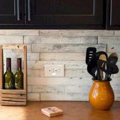 6 Effortless Cool Tips: Diagonal Herringbone Backsplash modern subway tile backsplash.Cheap Backsplash Dollar Stores peel and stick backsplash morning dew.Subway Tile Backsplash Around Window. Backsplash With Dark Cabinets, Dark Kitchen Cabinets, Kitchen Tile, Kitchen Redo, Rustic Kitchen, New Kitchen, Kitchen Ideas, Rustic Backsplash Kitchen, Kitchen Dining