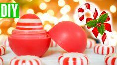 DIY Peppermint Candy EOS | How to Make EOS Lip Balm