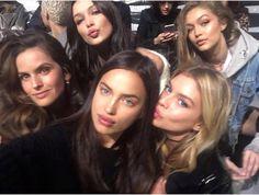 Izabel Goulart, Irina Shayk, Stella Maxwell, Bella & Gigi Hadid For  Victoria's Secret 2016 Fashion Show