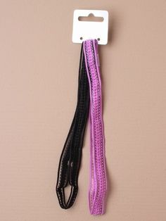 pair of stretch bandeaux hairbands