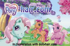 Replace My Little Pony Hair