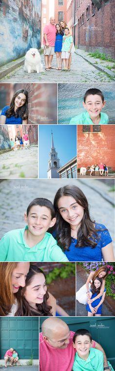 Urban family photo session