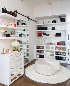 Hauptschlafzimmer Ideen Klein 20 Incredible Small Walk-In Closet Ideas & Makeovers What Are Some Of Walk In Closet Small, Walk In Closet Design, Bedroom Closet Design, Closet Designs, Bedroom Decor, Ikea Bedroom, Bedroom Furniture, Front Closet, Dressing Room Closet