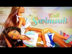 ▶ How to Make a Doll Swimsuit - YouTube