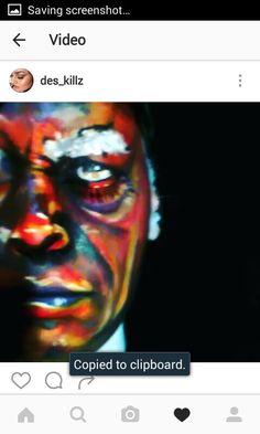 Face paint by desarae arellano...samuel jackson 😉