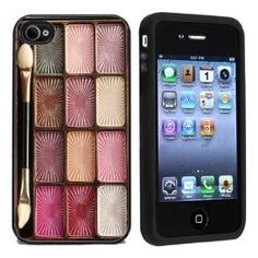 Amazon.com: Makeup Case Apple iPhone 4 or 4s Case / Cover Verizon or AT: Cell Phones & Accessories