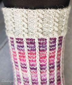 Love Knitting Patterns, Knitting Charts, Knitting Designs, Knitting Socks, Crochet Chart, Knit Crochet, Wool Socks, Yarn Crafts, Cross Stitching