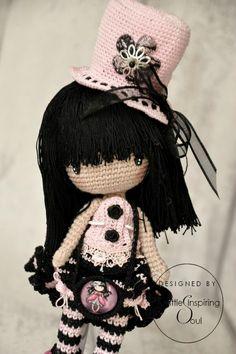 Sweet crochet doll - no pattern