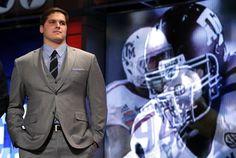 Luke Joeckel at the 2013 NFL Draft