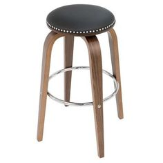 "Brayden Studio Tidwell 30"" Swivel Bar Stool (Set of 2) Upholstery:"