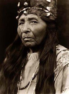 Proud Klamath Indian Woman