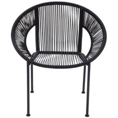 Comfortable Metal Plastic Rattan Chair. Sit Comfortably For Hours Together As You Bring Home This Chair Which Is A Combination Of Class And Ease. Made From Good Quality Materials This Chair Will Stay In Prim Condition For A Long Time. In A Black Color, This Chair Has Matte Finish And Will Get Well With Modern As Well As Traditional Interiors. Keep It In The Garden, Patio, Living Room Or Any Other Place You Wish To And It Will Not Leave You Uncomfortable. You Can Also Keep It In The...
