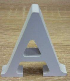 3D písmená abecedy