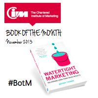 "CIM Book of the Month - ""This will help them to become a convening force within the organisation and will gain the respect and credibility of their peers."""