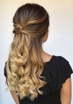 Top 10 Most Wanted Long Prom Hairstyles 2019 That are Simply Gorgeous. #beauty #style #fashion #hair #makeup #skincare #nails #health #fitness #exercise