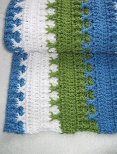 Ravelry: Logan Baby Blanket (permission to sell finished items) pattern by Cindy Toner