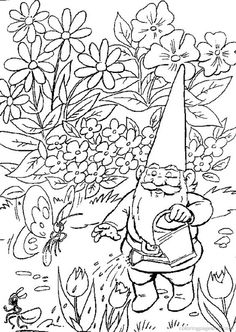 gnome coloring pages google search