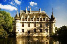 Azay-Le-Rideau, France by jewell