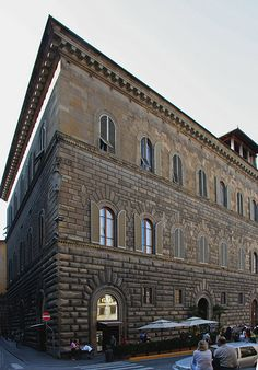 Florence Italy Palazzo Gondi