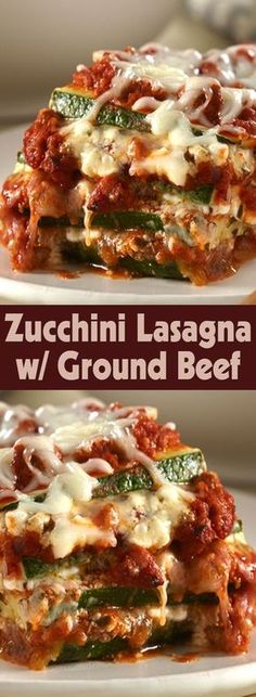 Make this delicious zucchini lasagne with ground beef, perfect soul food for fal Make this delicious zucchini lasagne with ground beef, perfect soul food for fal… – Delicious Meets Healthy: Quick and Healthy Wholesome Recipes Paleo Recipes, Low Carb Recipes, Cooking Recipes, Ground Beef Keto Recipes, Healthy Ground Beef, Ground Beef Recepies, Ground Beef Lasagna Recipe, Ground Turkey Recipes Paleo, Casseroles With Ground Beef