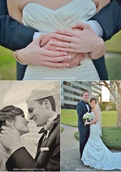 really like the bottom left picture.  www.jennachristine.com/weddings
