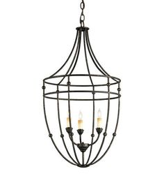 Currey and Company 9789 Fitzjames Collection Light Fixture Chandelier #CurreyandCompany