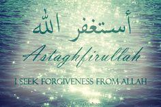 Astaghfirullah Text استغفر الله Astaghfirullah I seek forgiveness from Allah http://islamicartdb.com/astaghfirullah-11/