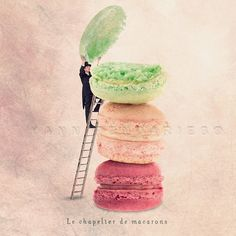 Fine art photography  The macarons hatter  by PhotographyDream, €13.00
