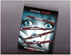 nice SCREAM The Complete Film Collection 1 2 3 4 (Blu-Ray Box Set Horror Movie) NEW - For Sale