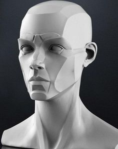 Drawing The Human Figure - Tips For Beginners - Drawing On Demand Facial Anatomy, Head Anatomy, Anatomy Poses, Anatomy Sketches, Anatomy Drawing, Planes Of The Face, Anatomy Sculpture, Sculpting Tutorials, Sculpture Techniques