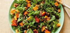 Kale & Maple-Roasted Sweet Potato Salad With Walnut Vinaigrette - mindbodygreen.com