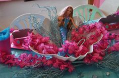 mermaid barbie party by frostedevents, via Flickr