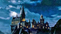 Hogwarts Castle HD Wallpaper.