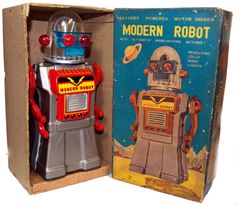 1960s Toys, Retro Toys, Vintage Robots, Vintage Toys, Domo Arigato, Japanese Robot, Retro Rocket, Iron Men, Kids Outdoor Play
