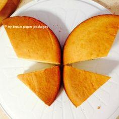 Arrange Butterfly Cake