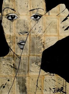 """Saatchi Online Artist: Loui Jover; Pen and Ink, 2013, Drawing """"expectations"""""""