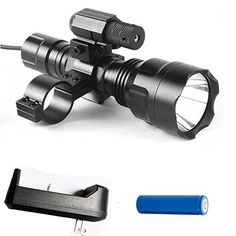 MakeTheOne Cree XML Tactical Scope Mount Light Lamp Red Dot Laser for Hunting Gun Air Rifle with Remote Pressure Switch * Check this awesome product by going to the link at the image. Hunting Scopes, Hunting Guns, Tactical Scopes, Air Rifle, Red Dots, Airsoft, Lamp Light, Cool Things To Buy, Remote